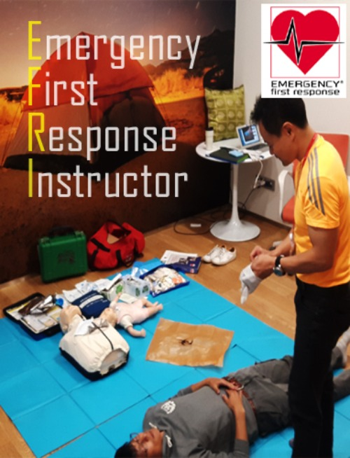 [EFR Instructor] CPR+Fist aid+AED 강사과정